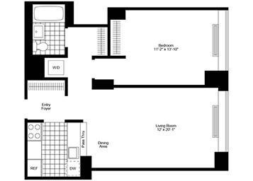 Affordable Luxury Nyc Bedroom Apartments With Bedroom Apartments Nyc