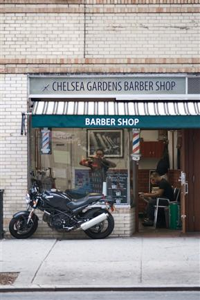 Chelsea Barber Shop, Chelsea, NYC