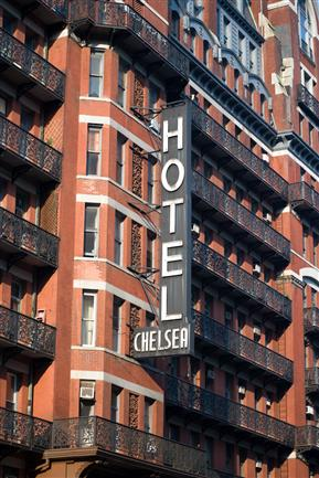 Chelsea Hotel, NYC
