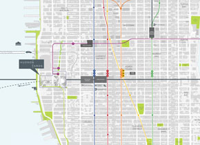 Hudson Yards, Access and Local Transportation, 01/2014