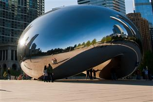 Public Art, Inspiration/Cloud Gate