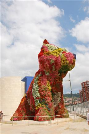 Public Art, Inspiration/Jeff Koons' Puppy
