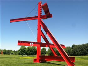 Public Art, Inspiration/Mark Disuvero Sculpture - Storm King